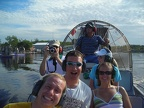 Me, Becky, & Scott On The Airboat