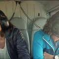 Carolina de Salvo - Peltors in helicopter