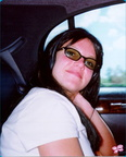 Britney In Car