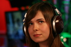headphones women veronica belmont 3456x2304 wallpaper www.wallpapername.com 77
