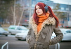 women-redhead-model-fashion-headphones-scarf-590748-wallhere.com